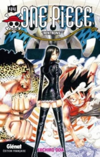 Couverture de l'album One Piece - 44. Rentrons