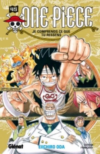 Couverture de l'album One Piece - 45. Je comprend ce que tu ressens