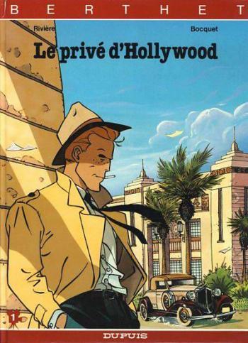 Couverture de l'album Le privé d'Hollywood - 1. Le privé d'Hollywood