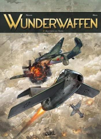 Couverture de l'album Wunderwaffen - 2. Aux portes de l'enfer
