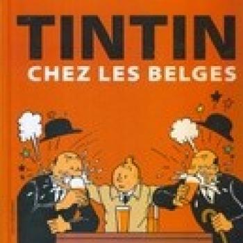 Couverture de l'album Tintin (Divers et HS) - HS. Tintin chez les Belges