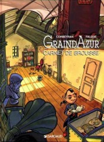 Couverture de l'album Graindazur - 1. Carnet de brousse