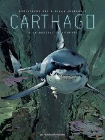 Couverture de l'album Carthago - 3. Le Monstre de Djibouti