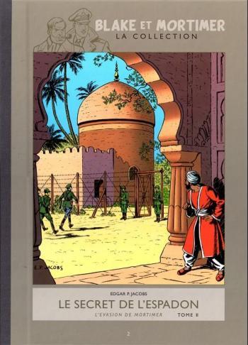 Couverture de l'album Blake et Mortimer (Hachette) - 2. Le secret de l'espadon - L'évasion de Mortimer