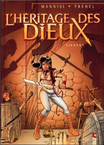 Couverture de l'album L'héritage des dieux - 1. Likonda