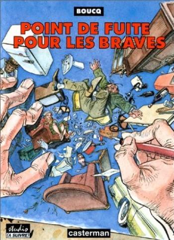 Couverture de l'album Point de fuite pour les braves (One-shot)