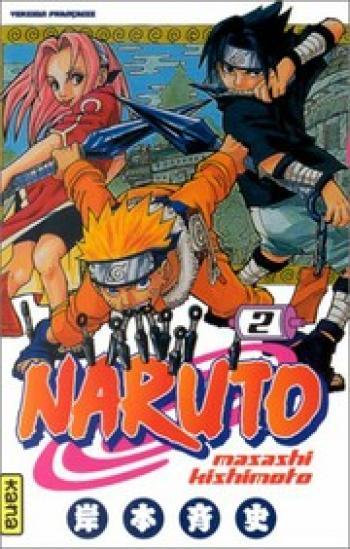 Couverture de l'album Naruto - 2. Tome 2