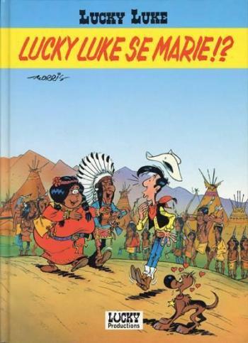 Couverture de l'album Lucky Luke - HS. Lucky Luke se marie !?