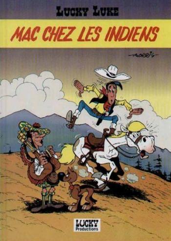 Couverture de l'album Lucky Luke - HS. Mac chez les Indiens