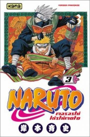 Couverture de l'album Naruto - 3. Tome 3
