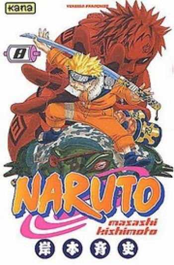 Couverture de l'album Naruto - 8. Tome 8