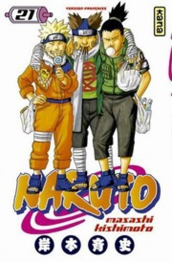 Couverture de l'album Naruto - 21. Tome 21