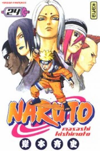 Couverture de l'album Naruto - 24. Tome 24