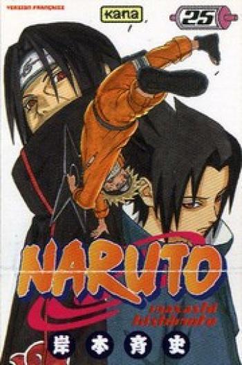 Couverture de l'album Naruto - 25. Tome 25