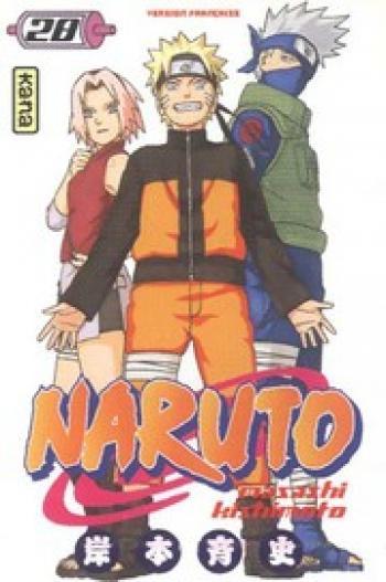 Couverture de l'album Naruto - 28. Tome 28