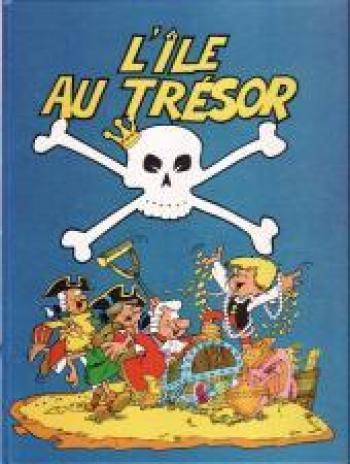 Couverture de l'album L'Île au trésor (Nino) (One-shot)