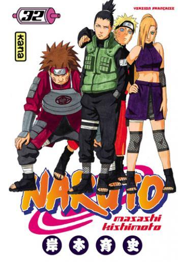 Couverture de l'album Naruto - 32. Tome 32