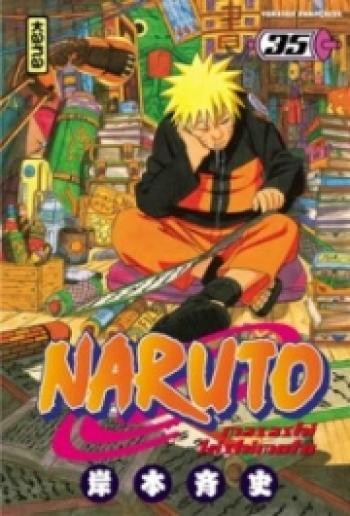 Couverture de l'album Naruto - 35. Tome 35
