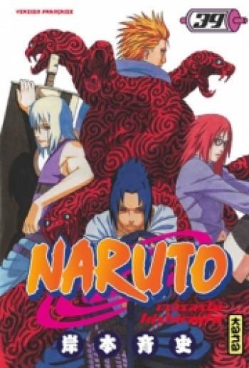 Couverture de l'album Naruto - 39. Tome 39