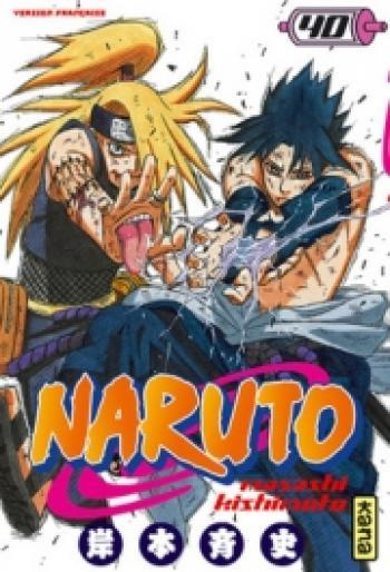 Couverture de l'album Naruto - 40. Tome 40