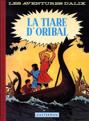 Couverture de l'album Alix - 4. La Tiare d'Oribal