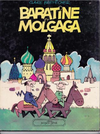 Couverture de l'album Baratine et molgaga (One-shot)