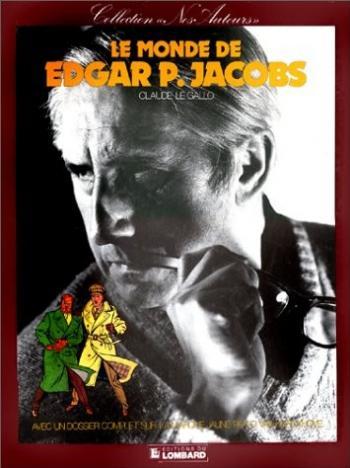 Couverture de l'album Le monde de Edgar P. Jacobs (One-shot)