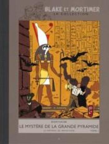 Couverture de l'album Blake et Mortimer (Hachette) - 4. Le mystère de la grande pyramide - Le papyrus de Manethon