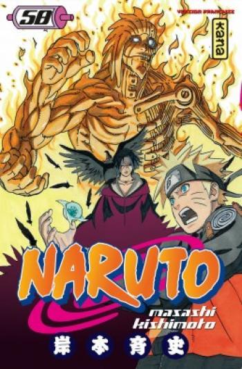 Couverture de l'album Naruto - 58. Tome 58