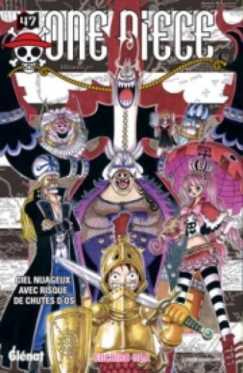 Couverture de l'album One Piece - 47. Ciel nuageux avec risque de chutes d'os