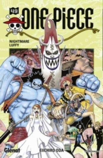 Couverture de l'album One Piece - 49. Nightmare Luffy