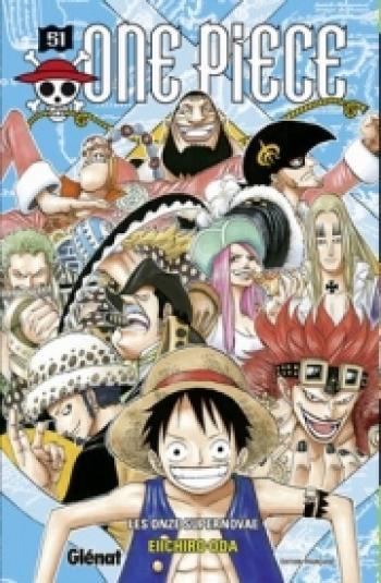 Couverture de l'album One Piece - 51. Les onze supernovae