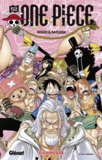 Couverture de l'album One Piece - 52. Roger & Rayleigh