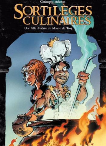 Couverture de l'album Sortilèges culinaires (One-shot)