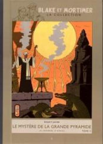 Couverture de l'album Blake et Mortimer (Hachette) - 5. Le mystère de la grande pyramide - La chambre d'Horus