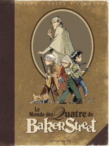 Couverture de l'album Les Quatre de Baker Street - HS. Le monde des quatre de Baker Street