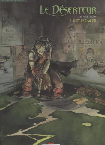 Couverture de l'album Le déserteur (Delcourt) - 1. Nuit de chagrin
