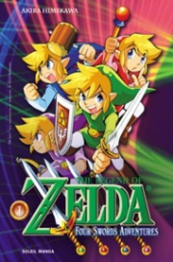 Couverture de l'album The Legend of Zelda - 8. Four Swords Adventures 1