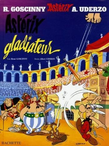 Couverture de l'album Astérix - 4. Astérix gladiateur