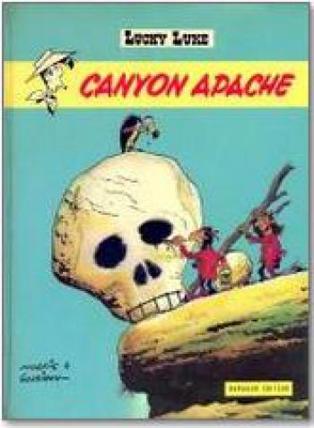 Couverture de l'album Lucky Luke - 37. Canyon Apache