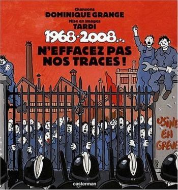 Couverture de l'album N'effacez pas nos traces ! 1968- 2008 (1CD audio) (One-shot)