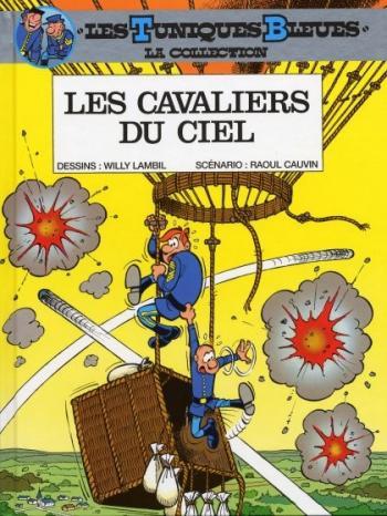 Couverture de l'album Les Tuniques bleues (Hachette) - 8. Les Cavaliers du ciel