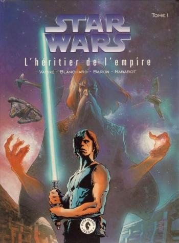 Couverture de l'album Star Wars - Le Cycle de Thrawn (Dark horse) - 1. L'Héritier de l'Empire I