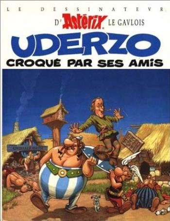 Couverture de l'album Uderzo croqué par ses amis (One-shot)