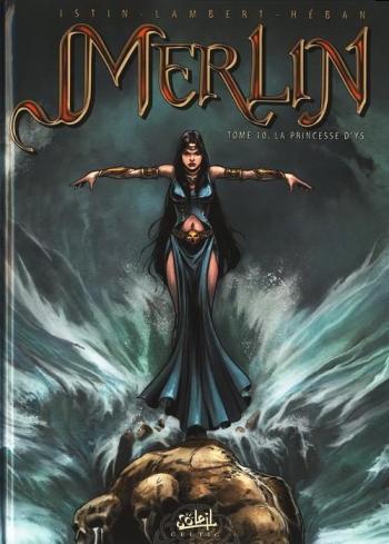 Couverture de l'album Merlin - 10. La Princesse d'Ys