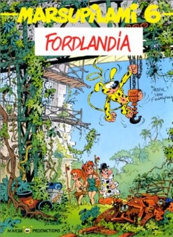 Couverture de l'album Marsupilami - 6. Fordlandia