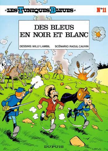 Couverture de l'album Les Tuniques bleues - 11. Des Bleus en noir et blanc
