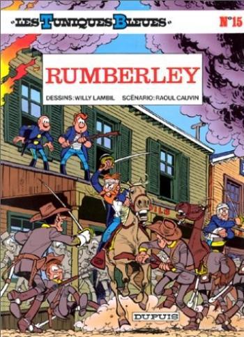 Couverture de l'album Les Tuniques bleues - 15. Rumberley