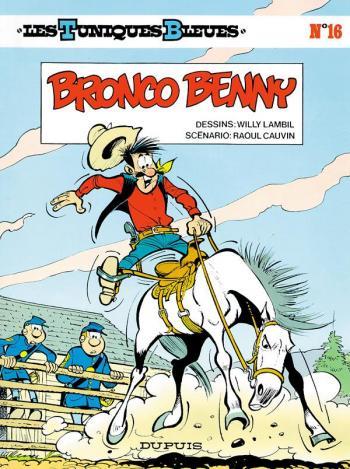 Couverture de l'album Les Tuniques bleues - 16. Bronco Benny