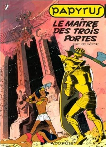 Couverture de l'album Papyrus - 2. Le Maître des trois portes
